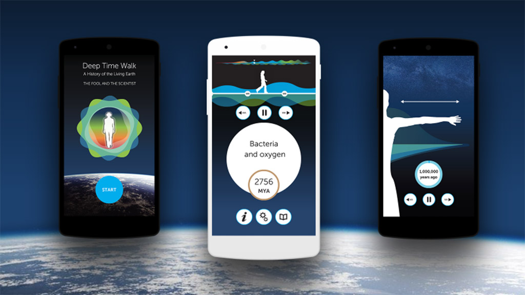 Transformative new Deep Time Walk app becomes reality