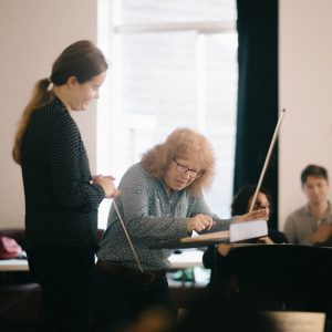 Conductors workshop with Sian Edwards