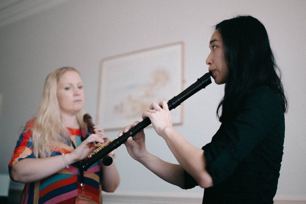 Jennifer Tsang recorder workshop with Jill Kemp - Summer School 2017