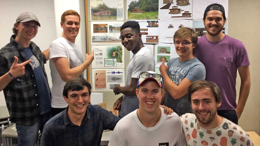 The Soundscape Bird Hide design team
