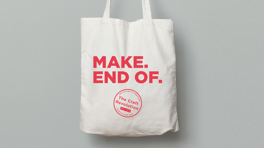 MAKE. END OF. Craft revolution