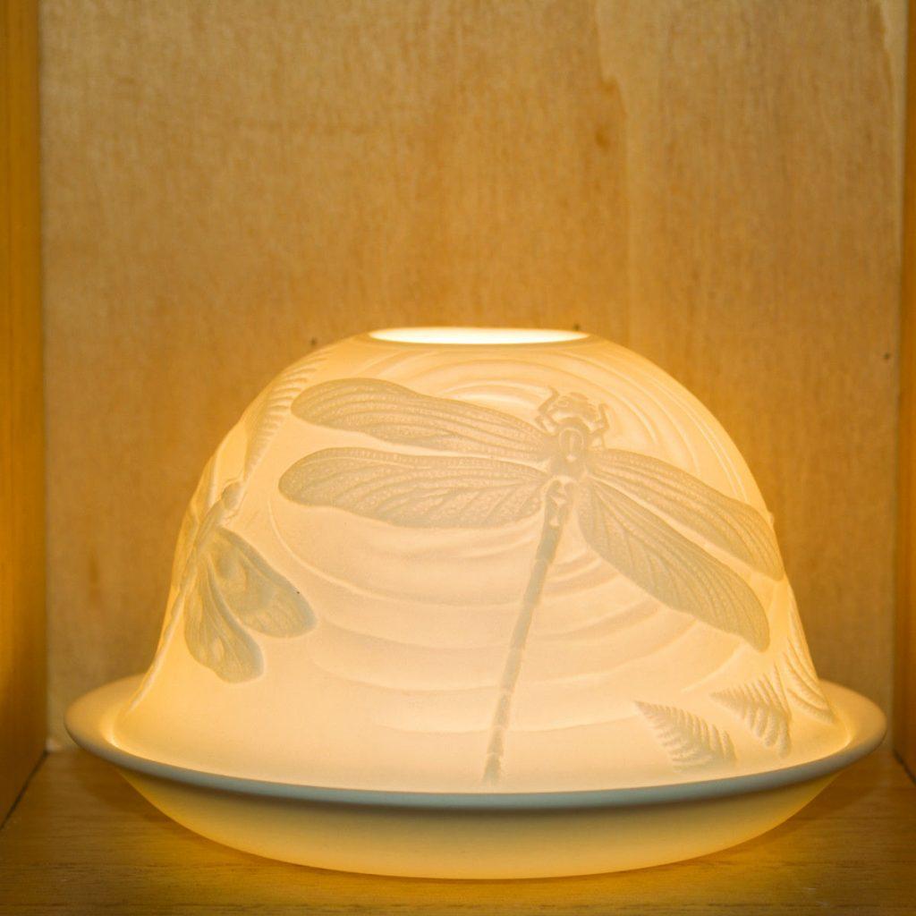 Porcelain T-Light Holders