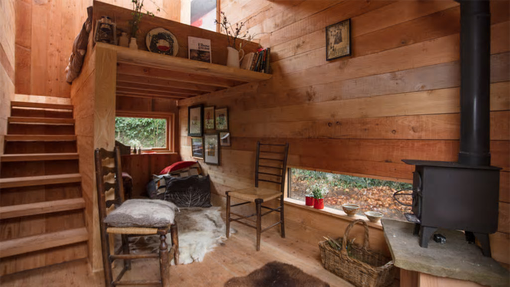 Tiny House eco-pod interior