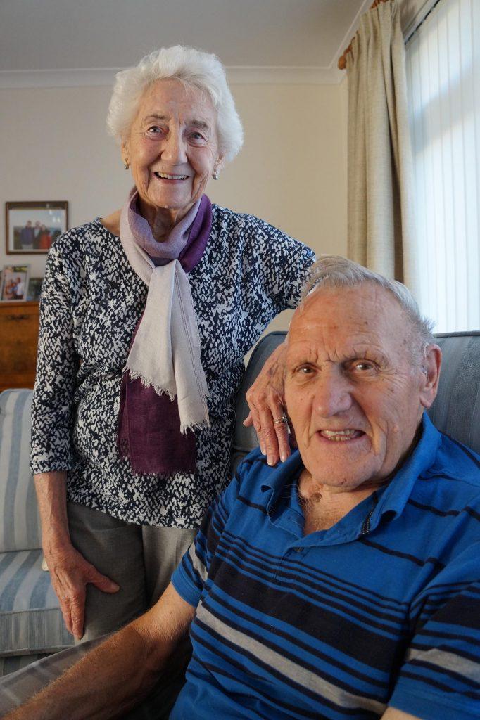 Patricia and Alan Crook