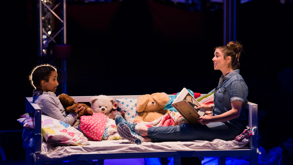 Audience to be under duvets for overhead acrobatic story