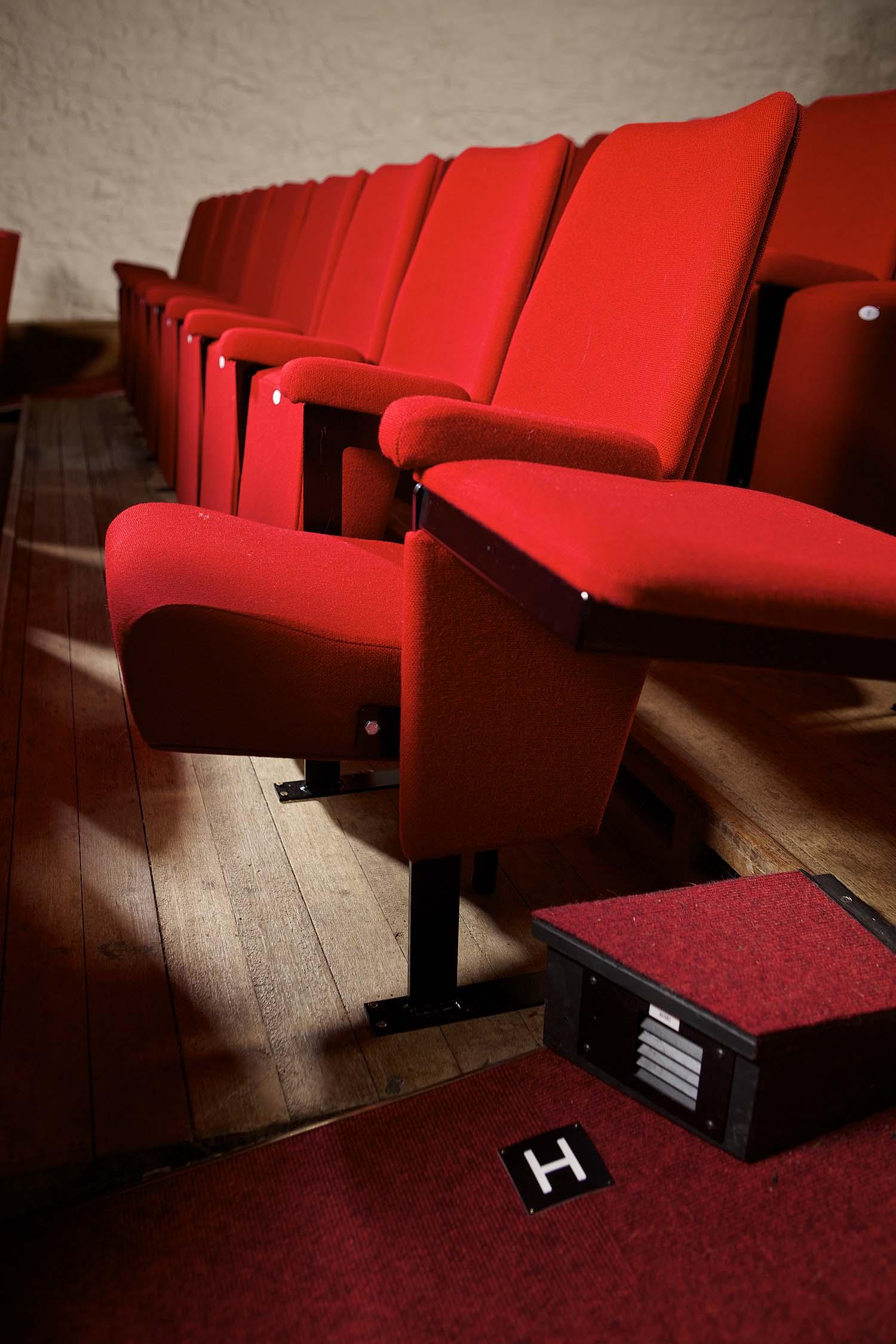 barn cinema seat