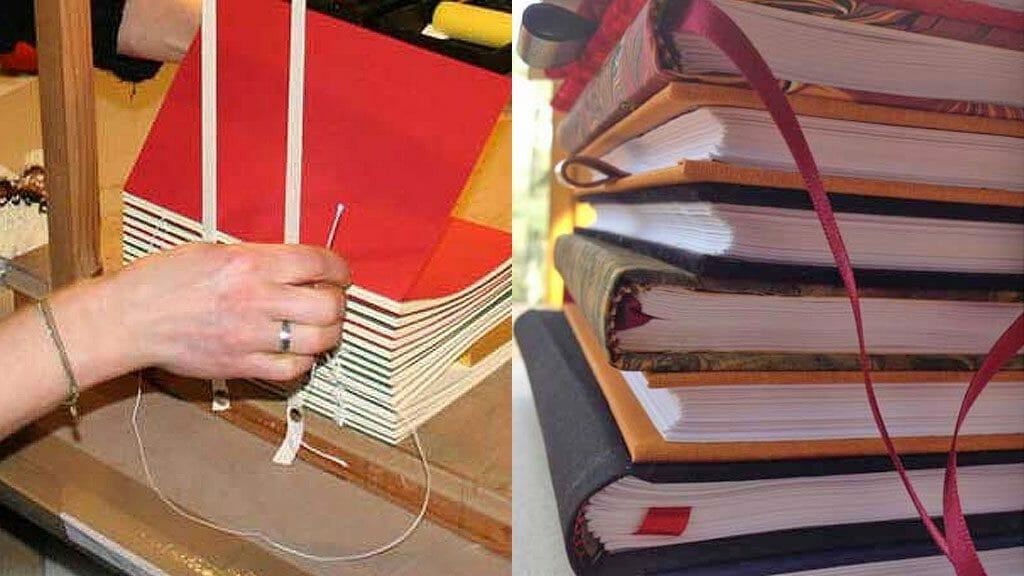 Handmade books with Tom O'Reilly