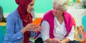 Diverse women entrepreneurs AWE programme