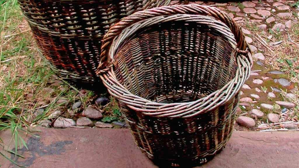 basket weaving hilary burns