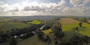 River Dart aerial image
