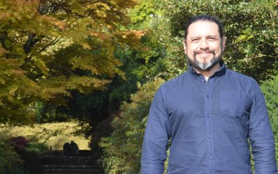 From Mexico City to Dartington: Meeting Rafael Pompa