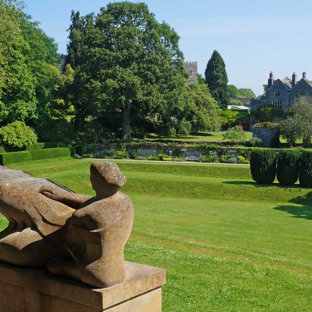 Henry Moore, Tiltyard and Dartington Hall
