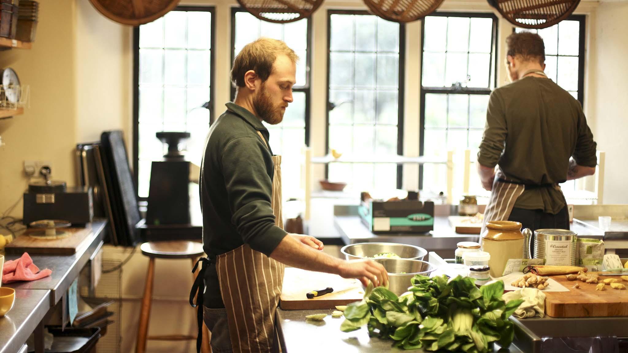 schumacher kitchen scene
