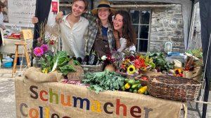 Schumacher College Growers at the Dartington Farmers' Market